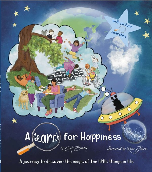 book cover happiness picture book